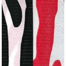 Pack de 5 hojas de papel de regalo zebra