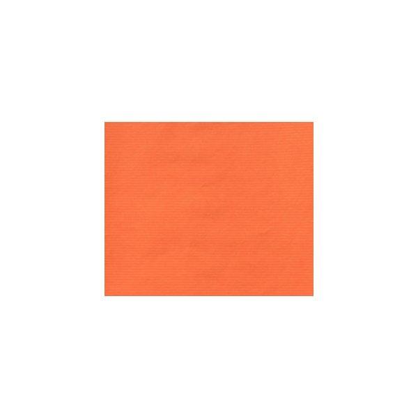 Bobina de papel de regalo, kraft naranja quemado