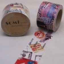 washi tape Vintage print. 30 mm x 10 M.