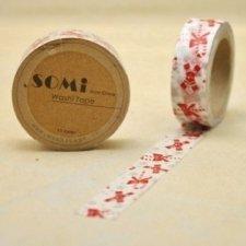 Washi tape Xmas sticks. 15 mm x 10 m.