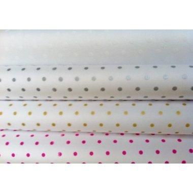 500 Hojas de papel de seda lunares. Varios colores500