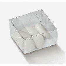 25 Cajas de regalo transparente 8X8X3.5 cms