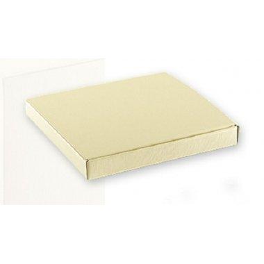 5 Cajas de regalo marfil 33x27x3 cms