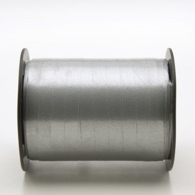 R. cinta de regalo plata para rizar. Varios anchos