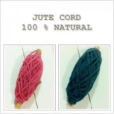 Cuerda / cordón de yute 25 m. Varios colores