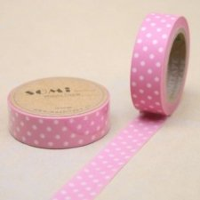 washi tape Lola rosa. 15 mm x 10 m. AGOTADO TEMPORALMENTE