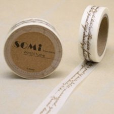 washi tape Hand writting. 15 mm x 10 m. AGOTADO TEMPORALMENTE