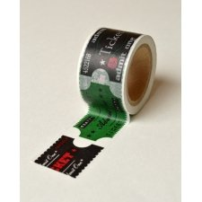 washi tape. Admit one, 3 cms x 10 m