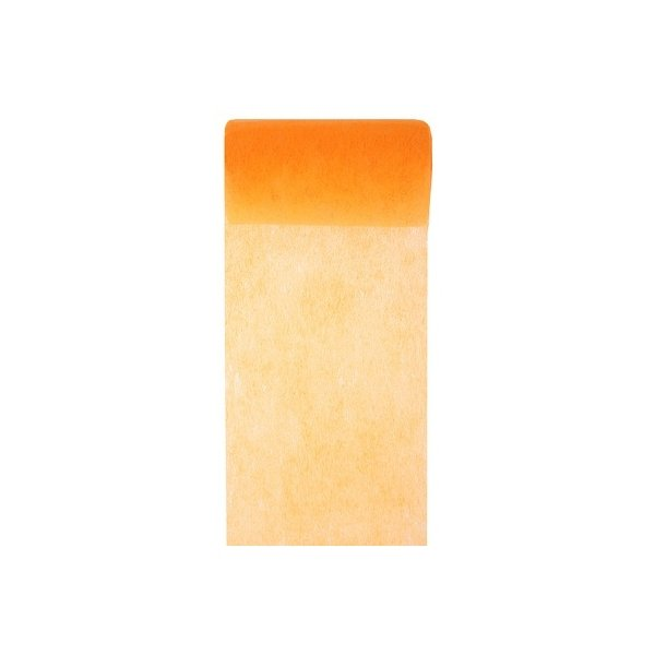 Cinta de fiselina, flúor mandarina 10 cms x 10 m