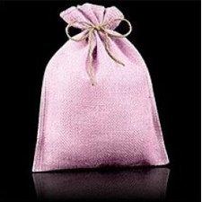 10 Sacos de yute / esterilla rosa. AGOTADO TEMPORALMENTE