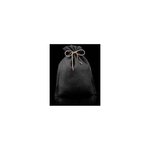 10 Sacos de yute / esterilla negro.