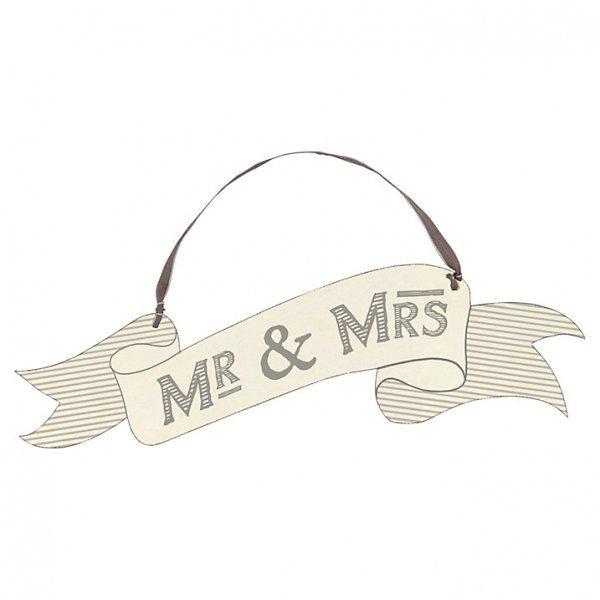 Cartel indicador MR & MRS