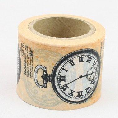washi tape reloj vintage. 3.8 cms x 10 m.