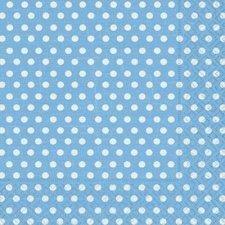 Bobina de papel regalo, azul claro con lunares blancos
