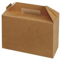 10 Cajas picnic kraft. Agotado temporalmente