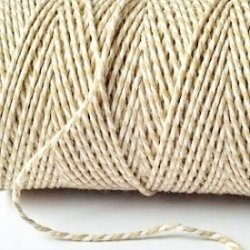 Baker´s twine natural, GRUESO. 100 m.