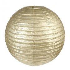 2 Lámparas / farol de papel, doradas. 30 cms