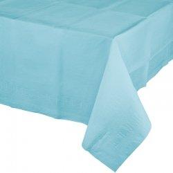 Mantel de papel azul claro 1.37x2.74 m