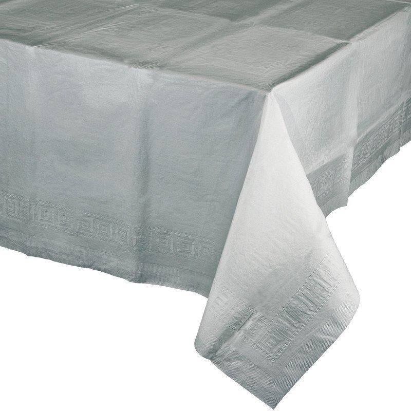 Mantel de papel plata 1.37x2.74 m.