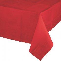 Mantel de papel rojo 1.37x2.74 m