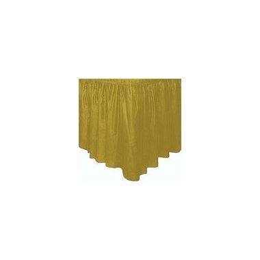 Faldón de plástico oro
