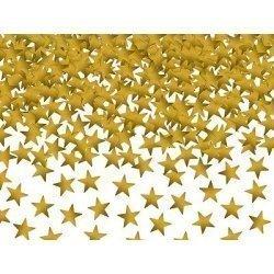 Confeti estrellas oro. 30 grs.