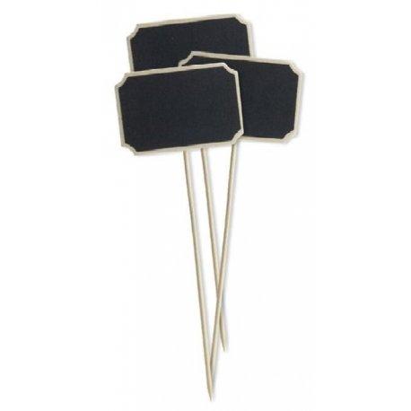 3 Pizarras con pick 7,5X5X15,5 cms