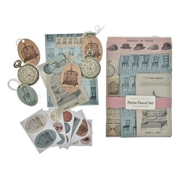 Set para empaquetado de regalo. French