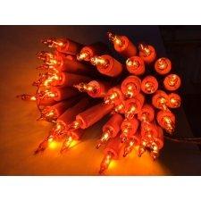 Guirnalda de luces, naranja