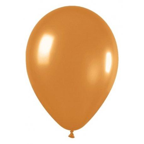10 Globos Dorados. Disponibles en 3 tamaños