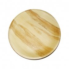 6 Platos de madera 23 cms. Agotado temporalmente