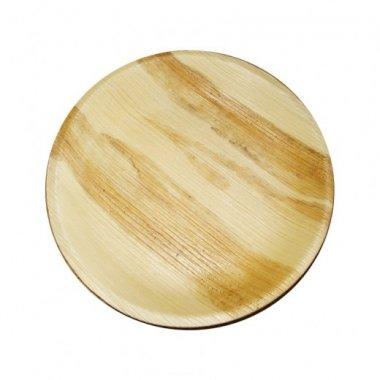 6 Platos de madera 23 cms.