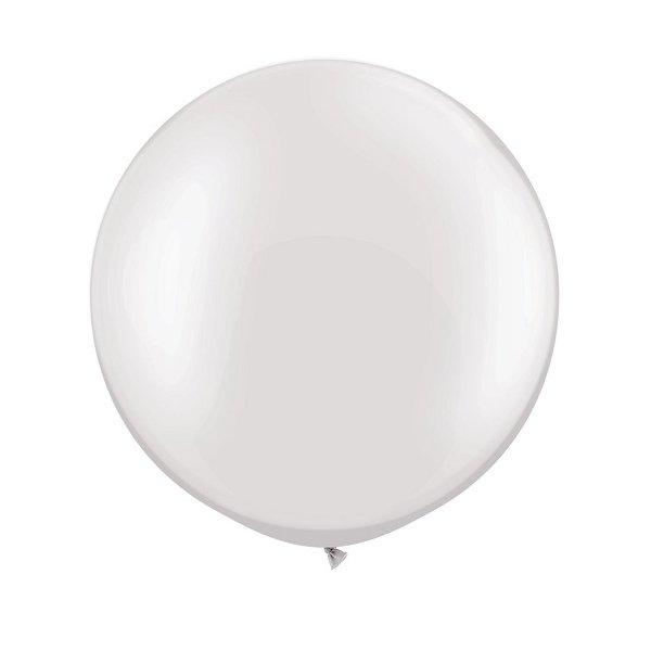 Globo gigante blanco. 90 Cms