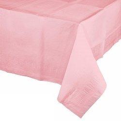 Mantel de papel rosa 1.37x2.74 m