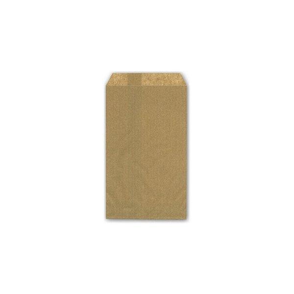 100 Sobres de papel kraft natural 7x13