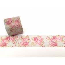 Washi tape flores. 30 mm x 5 m.
