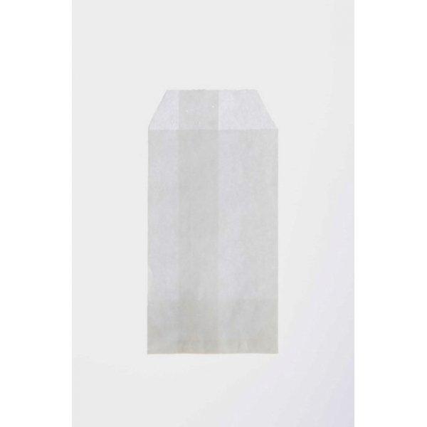 100 Sobres de papel blanco 7x13