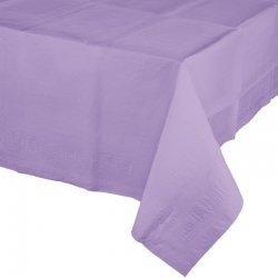 Mantel de papel lila 1.37x2.74 m