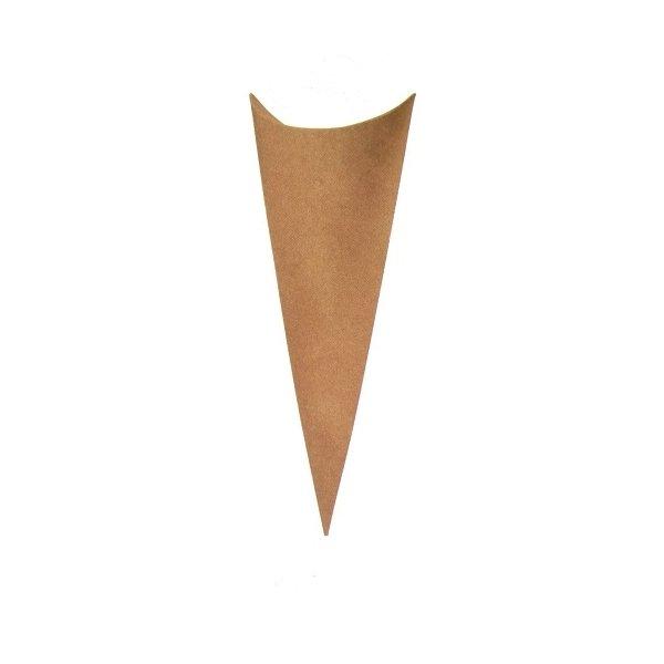 10 Conos-cucuruchos de papel kraft