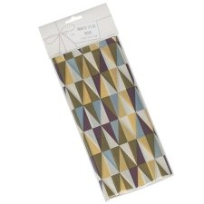 10 Hojas de papel de seda, geometric.