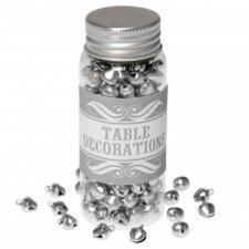 200 cascabeles plateados - Confeti