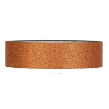Tape glitter cobre. 25 mm x 10 m.