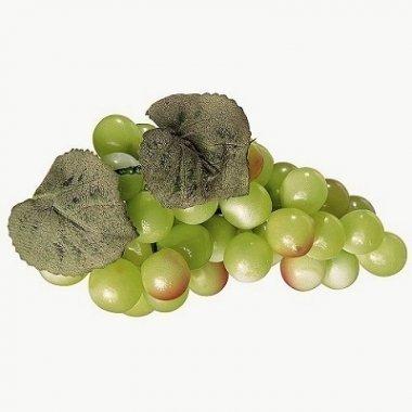 Racimo de uva verde. decorativo