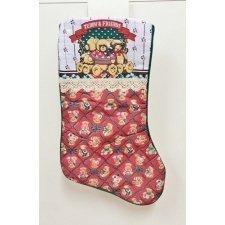 Calcetines-botas de Navidad, oso
