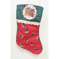 Calcetines-botas de Navidad, campana