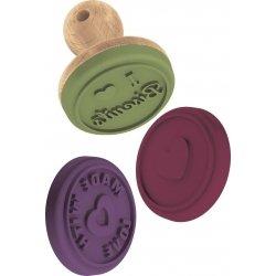 Set de sellos tampones de silicona para galletas