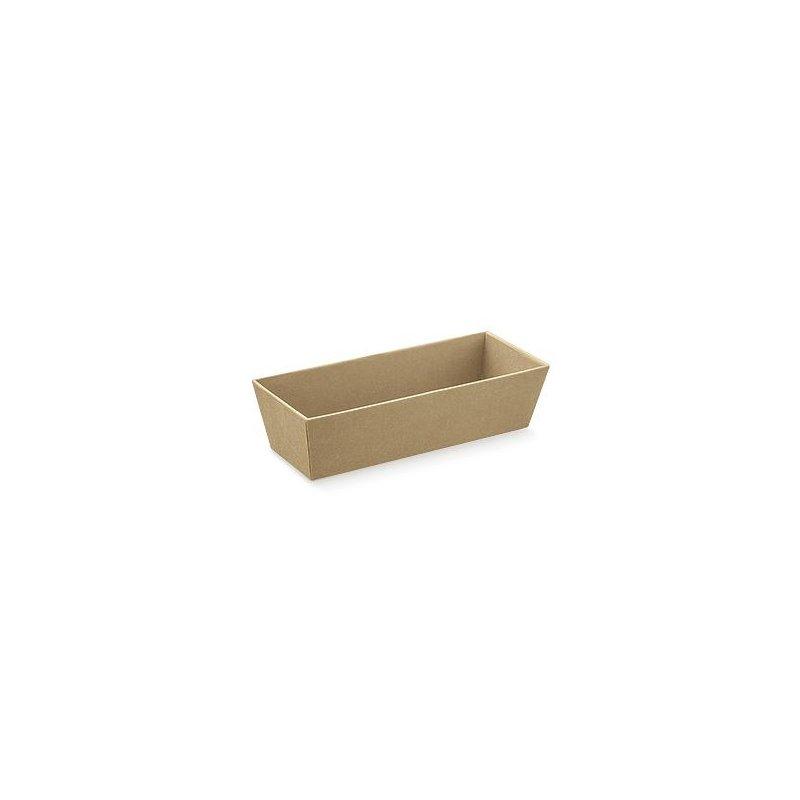 Bandeja de cartón kraftl 40x30x12 cms.