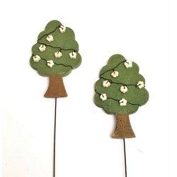 4 Picks árbol de madera