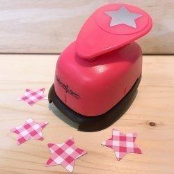 Troqueladora estrella mini. 2.54 cms