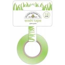 Washi tape, cesped